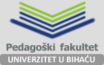 pedagoski fakultet bihac logo