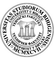 tehnicki fakultet bihac logo