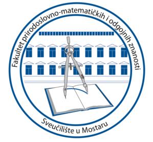 fakultet prirodoslovno matematickih znanosti mostar logo