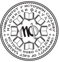 masinski fakultet istocno sarajevo logo