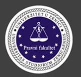 pravni fakultet u zenici logo