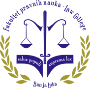 fakultet pravnih nauka banja luka aperion univerzitet logo