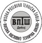 visoka poslovno tehnicka skola doboj logo