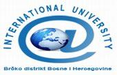 internacionalni univerzitet brcko logo