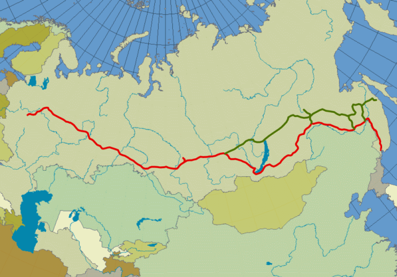 Transsibirska željeznica