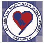 srednja medicinska skola jezero sarajevo logo