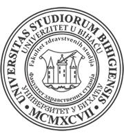 fakultetr zdravstvenih nauka bihac logo